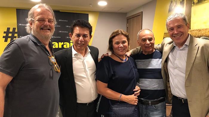 Dr. Pagura prestigiou o lançamento do livro  do Dr. Gustavo Korte juntamente com o jornalista Herodoto Barbeiro.